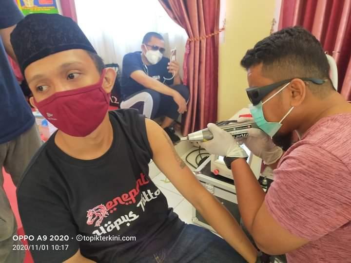 Hijrah Tanpa TATTO, 57 Peserta mengikuti Jeneponto Hapus Tatto