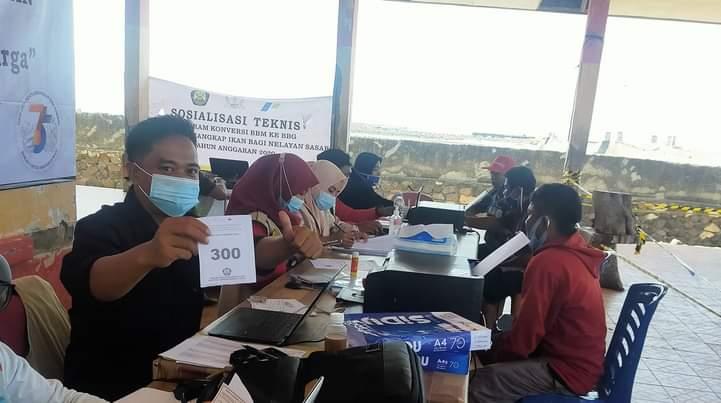 Hari ke 5 Distribusi, 353 Mesin Konversi BBM ke BBG Bantuan kemeterian ESDM tersalur di Jeneponto