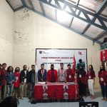 21 Kader GMNI dilantik, Yeriko: kiranya mereka mendalami nasionalisme Bung Karno