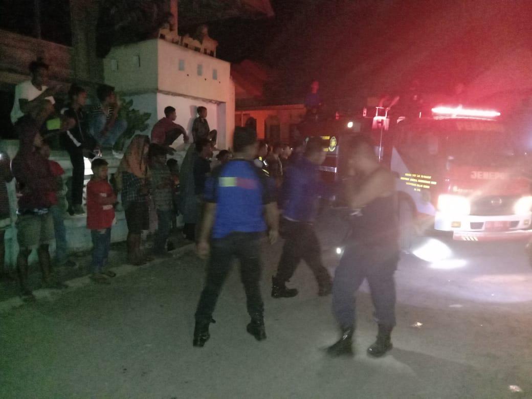 Kebakaran di Jeneponto Hanguskan 1 Unit Rumah dan Menelan Korban Jiwa