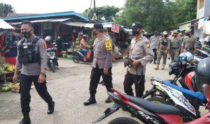 Ops Yustisi, Kabag Ops Polres Sinjai Pimpin Operasi Bersama Tim Gabungan Sasar Pasar Sentral