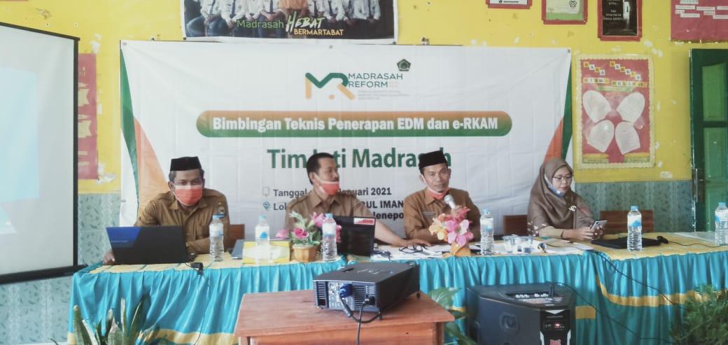 39 TIM Madrasah Mengikuti Bimbingan Teknologi Penerapan EDM dan e-RKAM Kementerian Agama Rombel 6