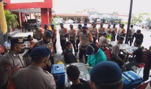 Bantu Korban Gempa, 136 Personel dan Mobil Dapur Satbrimob Polda Sulsel diterjunkan ke Mamuju