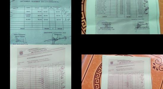 Diduga Memotong Gaji dan Palsukan Tanda Tangan Guru Non PNS, Kepala SMP Negeri 2 Kelara diperiksa Inspektorat