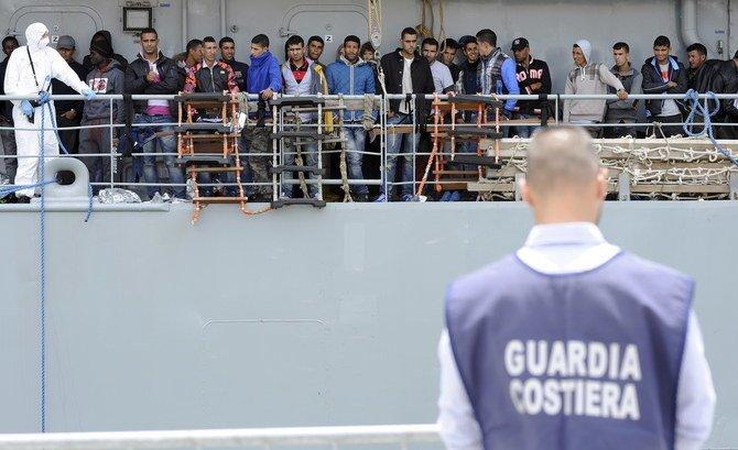 Polisi Italia membobol sel penyelundupan migran