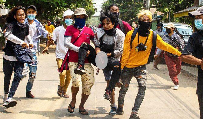 Korban tewas penumpasan Myanmar melewati 500
