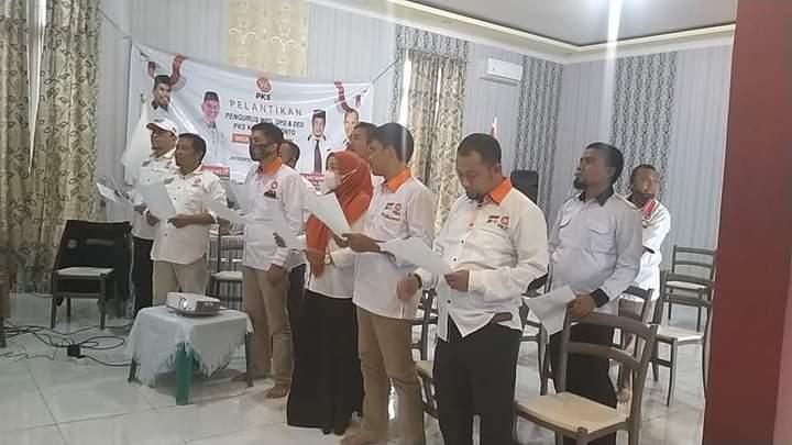 Pelantikan Pengurus DPD PKS Jeneponto, Andi Tahal Fasni: Mari Bersama-sama semua Komponen Melayani Masyarakat