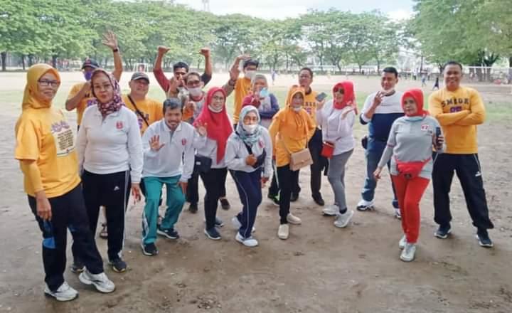 Menjaga Ukhuwah, Alumni SMAGA 85 Adakan Kegiatan Jogging