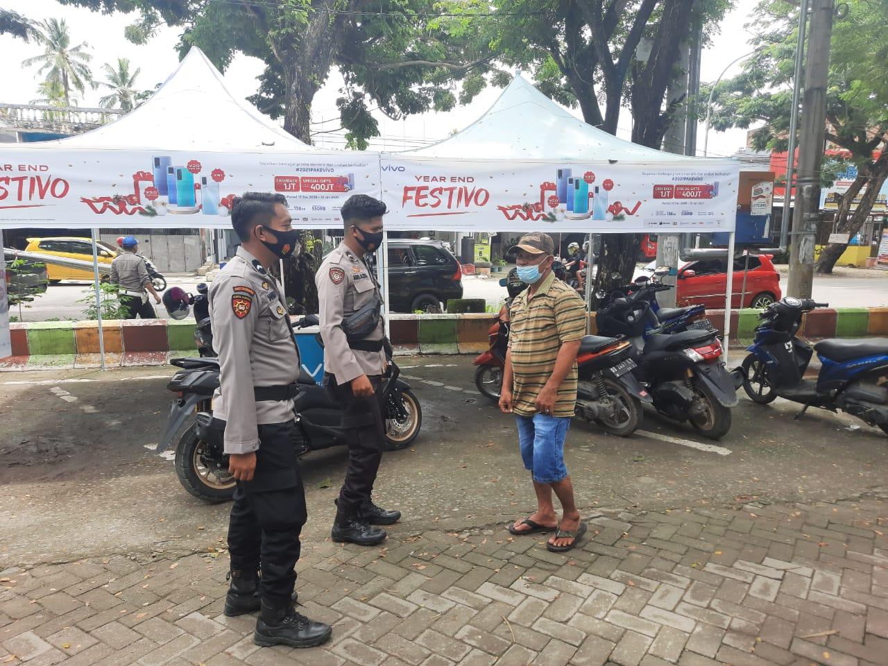 Antisipasi Gangguan Kamtibmas, Sat Sabhara Polres Sinjai Intens Patroli di Obyek Vital