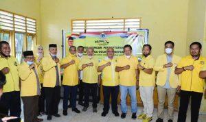 Organisasi Sayap Partai Golkar Dampingi Iksan Kembalikan Formulir Calon Ketua