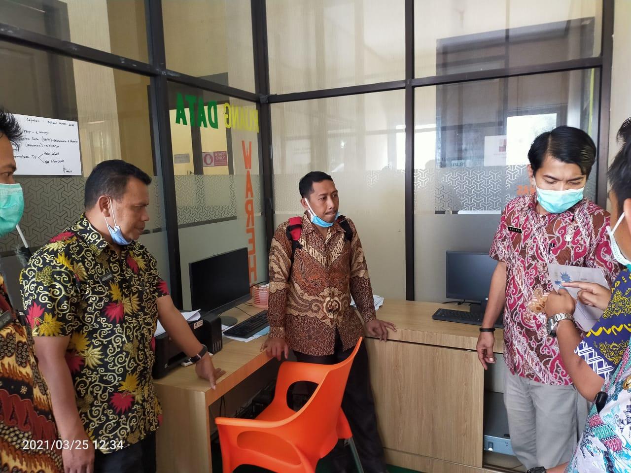 Disdukcapil Jeneponto Lakukan Konsultasi Terkait Perjanjian Kerjasama Pemanfaatan Data dan Pengolahan DWH ke Disdukcapil Bantaeng