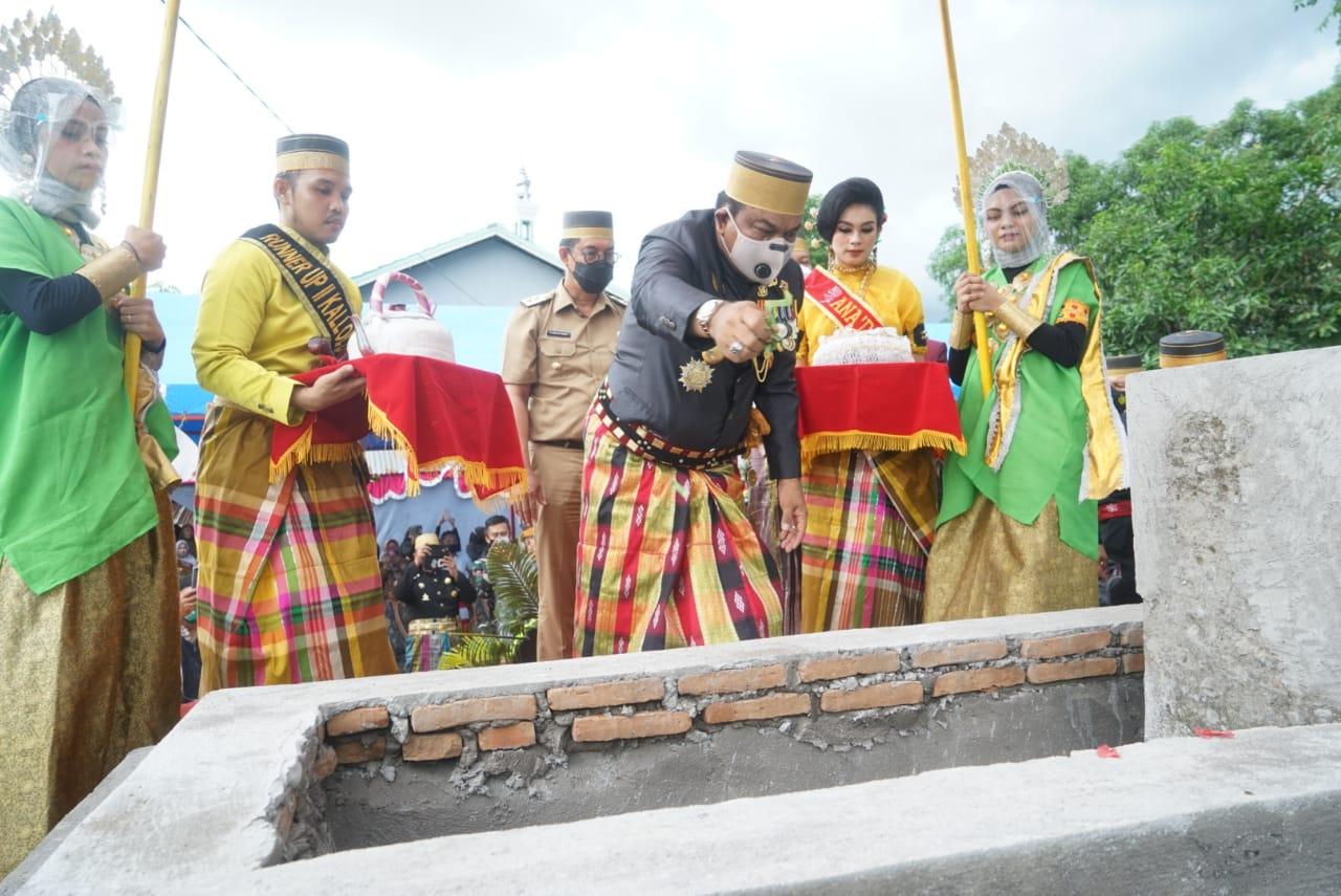 Dalam Rangka HJB Ke-691, Bupati Bone Bersama Forkopimda Ziarah Makam Raja Bone Ke-Xl dan Ke-lX di Bantaeng dan Bulukumba