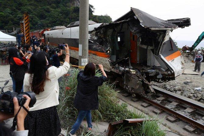 Kecelakaan Maut Kereta Api di Taiwan Tewaskan 50 Orang dan 200 Lebih Luka-luka