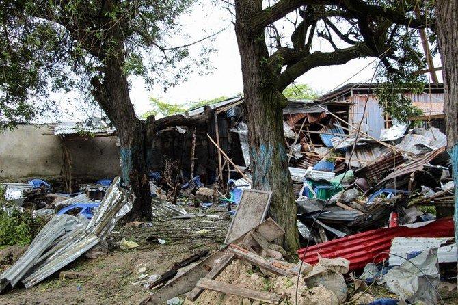 Ledakan Bom Bunuh diri di kota Somalia menewaskan sedikitnya 4 orang