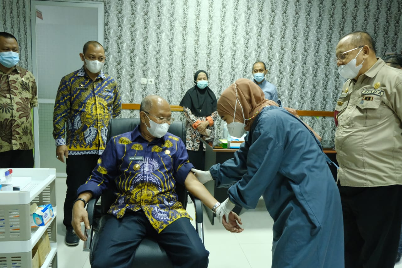 Usai Menghadiri Musrembang, Bupati Jeneponto Kunjungi RSUD Latopas