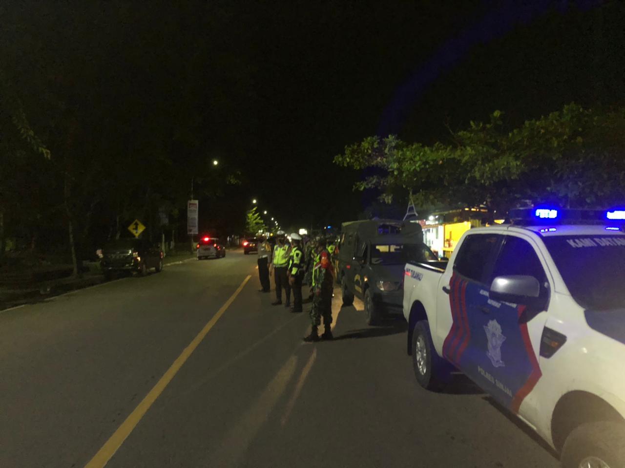 Antisipasi Gangguan Kamtibmas, Polres Sinjai Bersama TNI Gelar Patroli Gabungan