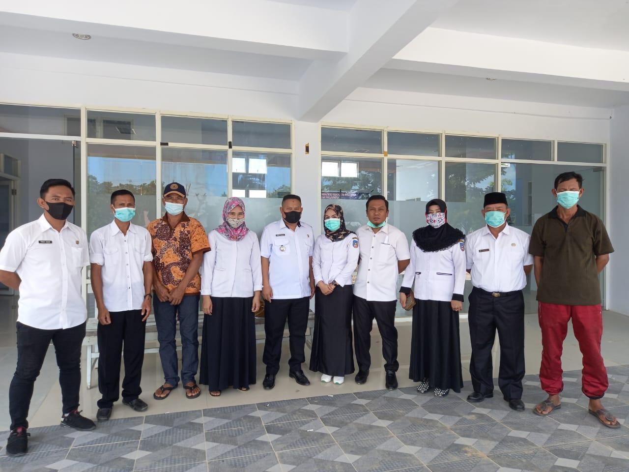 Antisipasi Penyebaran COVID-19, Pemerintah Kelurahan Lakukan Vaksinasi Tahap Pertama
