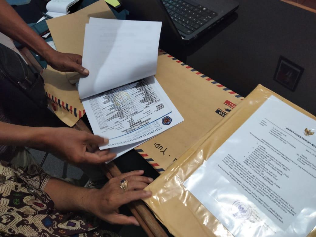 """Kepala BKPSDM Lombok """"Berang"""" Terima Kiriman Surat mengaku dari BKN menyebut CPNS Isi Bicara PPPK"""