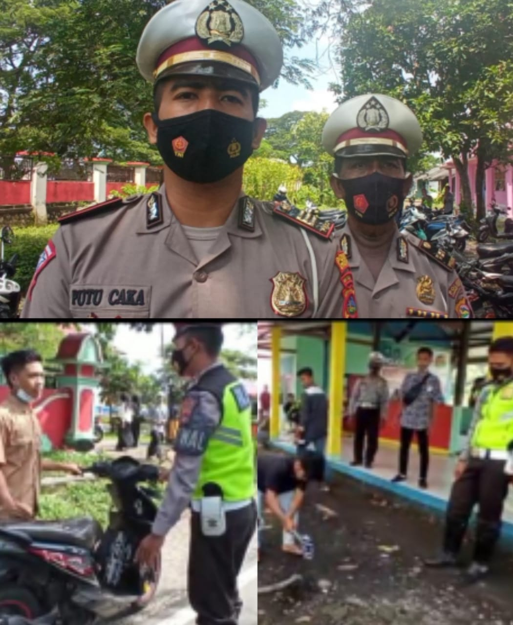 Ops Gabungan Satlantas Lotim Jelang Ramadhan, Puluhan Kenalpot Resing Terjaring