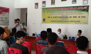 Anggota MPR RI Ajiep Padindang Lakukan Sosialisasi Empat Pilar Di Kecamatan Libureng Bone