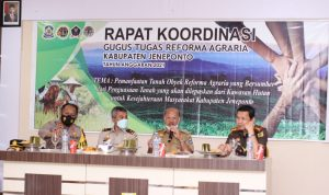 Bupati Jeneponto Buka Rapat Koordinasi Gugus Tugas Reforma Agraria 2021