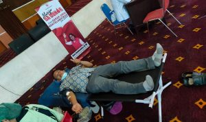 KSR PMI Polimdo suksesi aksi kemanusiaan Donor Darah