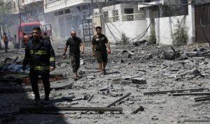 Serangan Israel menewaskan 33 orang, merobohkan bangunan di Kota Gaza