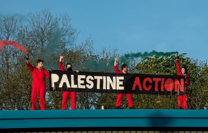 Pengunjuk rasa pro-Palestina menduduki pabrik drone Inggris