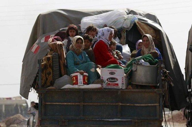 Suriah menduduki puncak negara-negara dengan pengungsi internal terbanyak