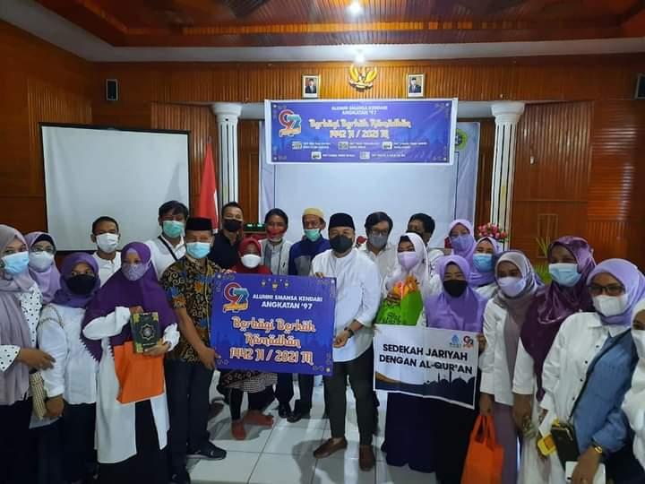 Alumni 1997 SMA 1 Kota Kedari Gelar Baksos Berbagi Berkah di bulan Suci Ramadhan