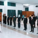 Bupati Buton Utara Lantik Pj. Sekda, Tujuh Pejabat Administrator dan 1 Pejabat Fungsional Auditor Ahli Pertama