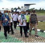 Dirjen Perhubungan Udara Tinjau Pengembangan Bandara Udara Arung Palakka