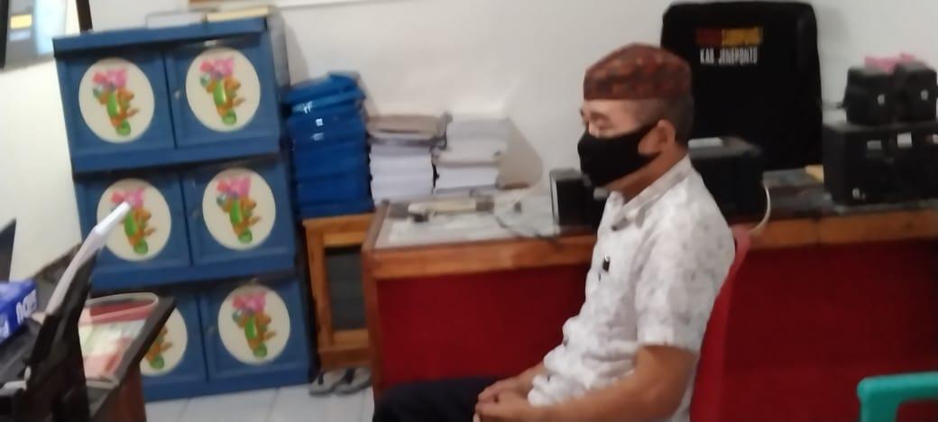 Freman, Terduga Pelaku Penggelapan Anggaran Makan Minum DPRD Jeneponto Akhirnya di Temukan