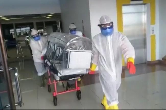 Pasien COVID-19 di Tolitoli meninggal dunia setelah 7 hari menjalani perawatan intensif di ruang isolasi RSUD Mokopido