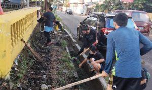 HUT Ke 19 Tahun, KMPA Tansa Sulut gelar lomba pembersihan drainase