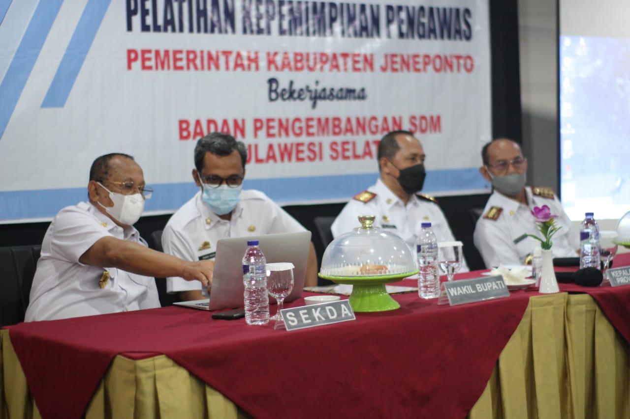 Wakil Bupati Jeneponto Buka PKP-BKPSDM Angkatan Ke-IV