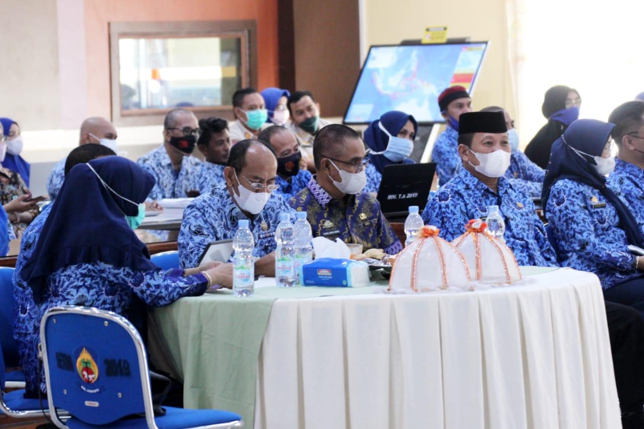 Buka Kegiatan Coaching Clinic PMPRB 2021, Ini Penegasan Bupati Jeneponto