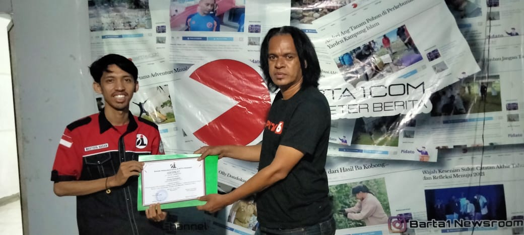 Ahli Pers Sulut Beri Pelatihan Jurnalistik ke BPK Oi Manado