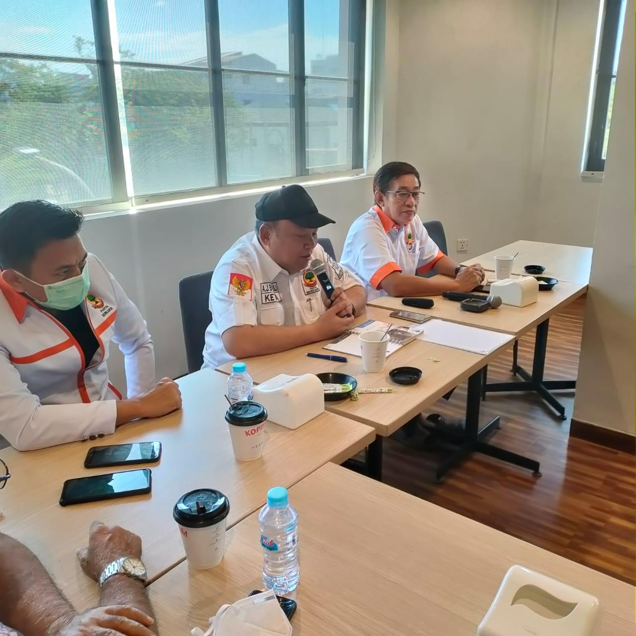 Konsolidasi Pengurus DPW Partai Berkarya Sulawesi Selatan