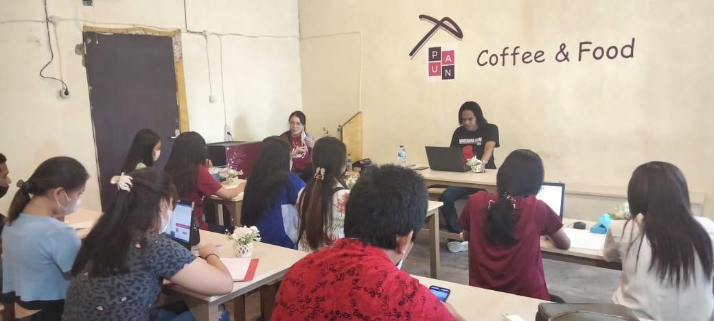 Tingkatkan Capacity Building, MJB Region Sulut Gelar Pelatihan Jurnalistik