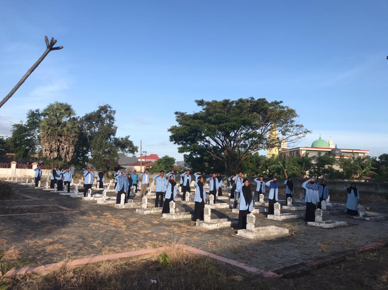 DPD Mapancas Jeneponto Gelar Upacara Peringatan Hari Lahir Pancasila di TMP Karisa