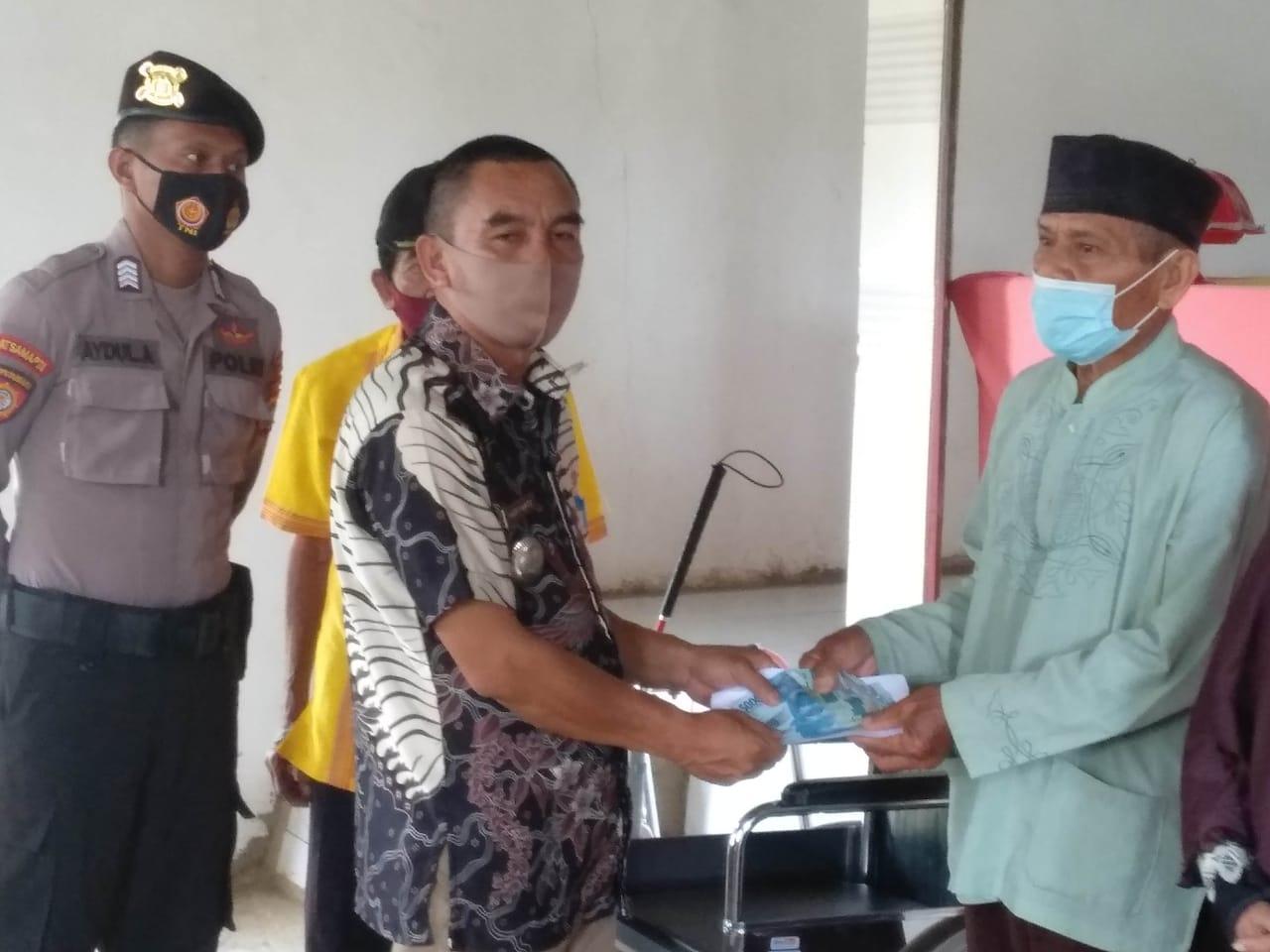 Pemerintah Desa Ahuanghuluri salurkan BLT-DD untuk tiga bulan