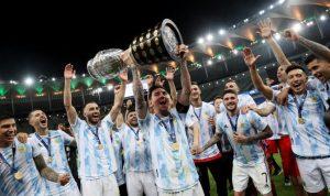 Argentina mengalahkan Brasil 1-0, memenangkan gelar Copa America