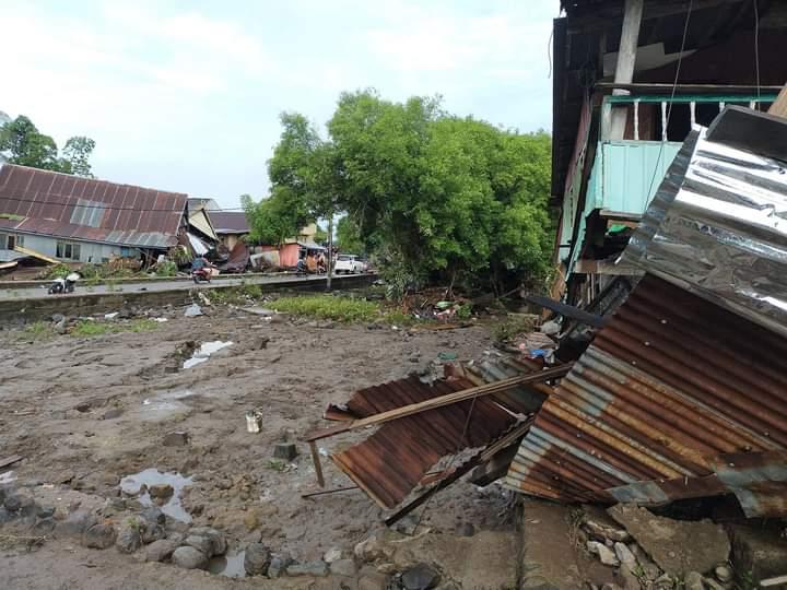 Jeneponto Kembali Diterjang Banjir, Puluhan Rumah Rusak 4 Diantaranya Sapu Bersih
