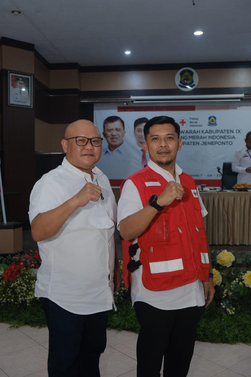 Muh.Islam Iskandar terpilih secara Aklamasi Sebagai Ketua PMI Kab.Jeneponto