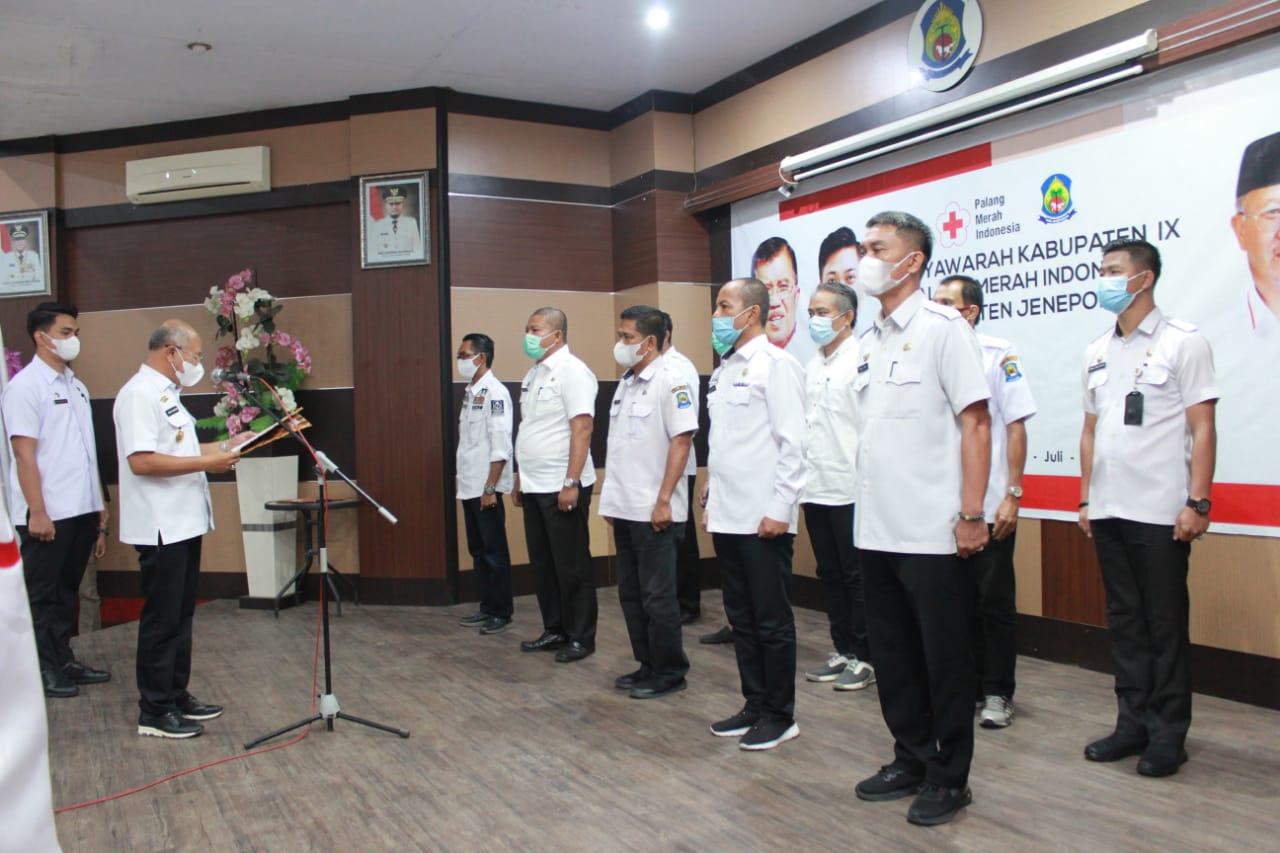 Iksan Iskandar Inginkan Yang Lebih Muda Pimpin PMI Jeneponto