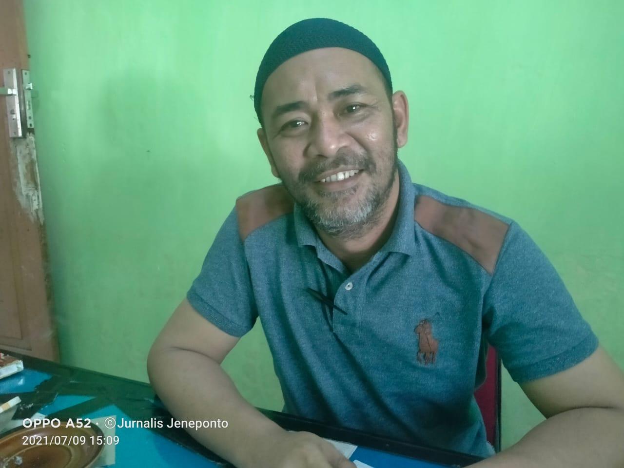 Kepala Bidang Tanaman Pangan Dinas Pertanian Kabupaten Jeneponto, Bambang Hariyanto, SP.MM