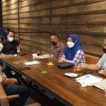 Kunjungan Kerja Anggota DPD RI Ajiep Padindang Diskusi UU Cipta Kerja