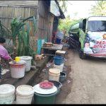 DPC GERINDRA Kembali Salurkan Bantuan Air Bersih Untuk Korban Bencana Banjir di Tarowang