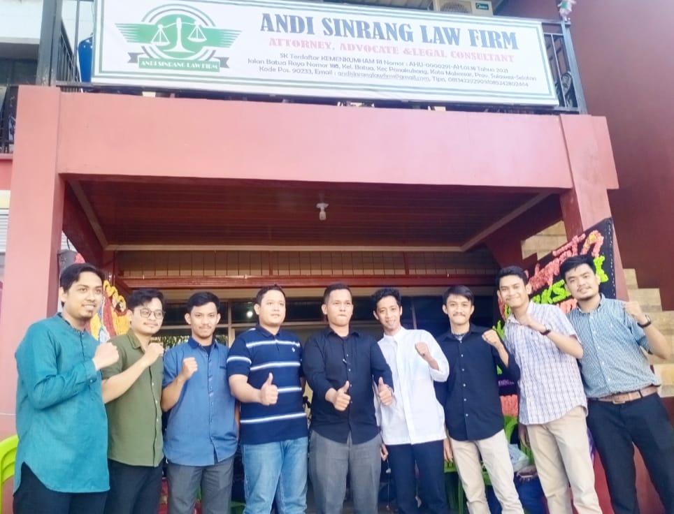 Kantor Advokat ANDI SINRANG LAW FIRM Diresmikan